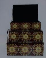 Ozdobné krabičky ze skla (0990522)
