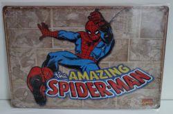 Plechové retro cedule Spider - man