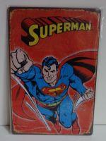 Plechové retro cedule Superman