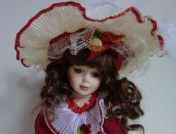 Porcelánová panenka Eliška - 31 cm (032094)