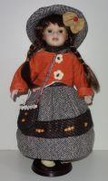 Porcelánová panenka  Františka - 42 cm