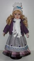 Porcelánová panenka Irena - 42 cm (042601)