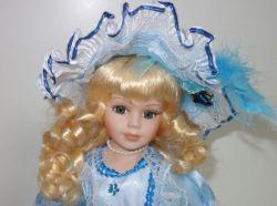 Porcelánová panenka Markéta - 31 cm (032095)