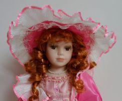 Porcelánová panenka Míla - 42 cm (043147)