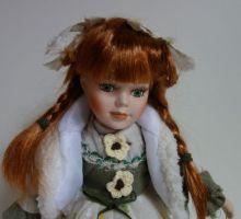 Porcelánová panenka Zuzanka - 32 cm (032084)