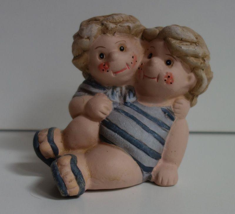 Figurky- Holka s klukem v námořnickém stylu 9 cm
