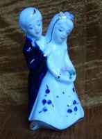 Keramická soška -  Ženich s nevěstou