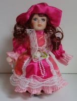 Porcelánová panenka  Mája - 22 cm