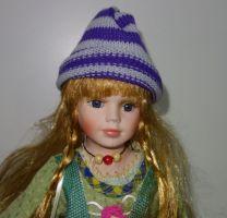 Porcelánová panenka - 42 cm (042613)