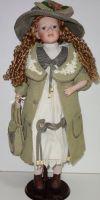 Porcelánová panenka Anna - 70 cm (065013)