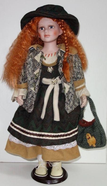 Porcelánová panenka Toňa - 65 cm (065036) sleva 150 kč chybí kabátek