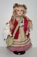 Porcelánová panenka Vivian - 43 cm