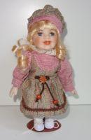 Porcelánová panenka  Běla - 22 cm (025190)