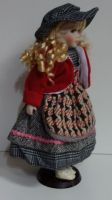 Porcelánová panenka Bibi - 42 cm (042625)