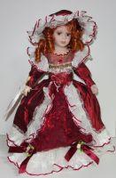 Porcelánová panenka Elisabeta - 42 cm
