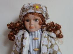 Porcelánová panenka Adélka - 42 cm (042666)