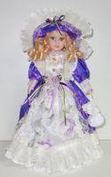 Porcelánová panenka Komtesa - 42 cm