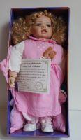 Porcelánová panenka Lilian s certifikátem 50 cm (0550119)