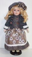 Porcelánová panenka Nikita  - 42 cm