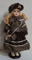 Porcelánová panenka Selena  - 42 cm