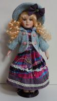 Porcelánová panenka Tifany - 42 cm