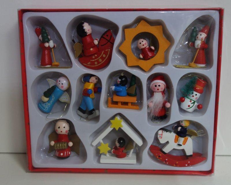 Vánoční ozdoby ozdoby malé (0980075)